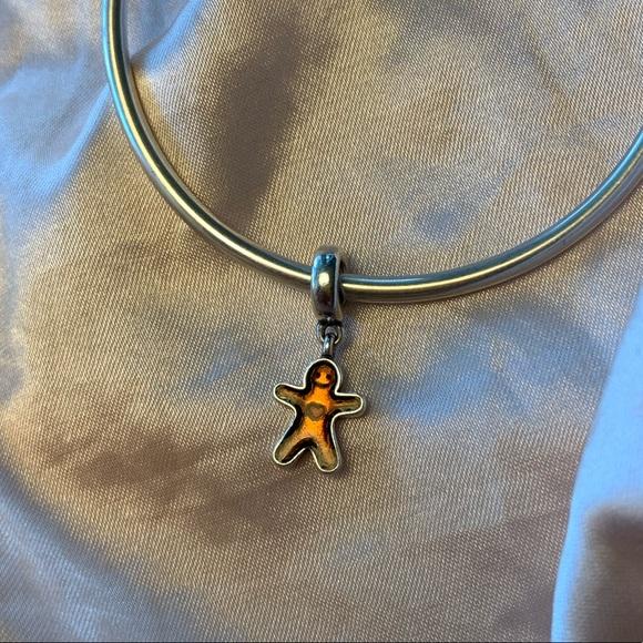 Pandora Jewelry - Retired Pandora Gingerbread Dangle Charm